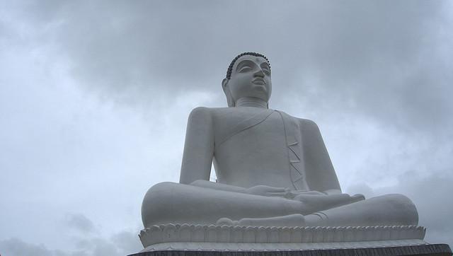 The Statue of the Buddha at Kurunegala, Sri Lanka