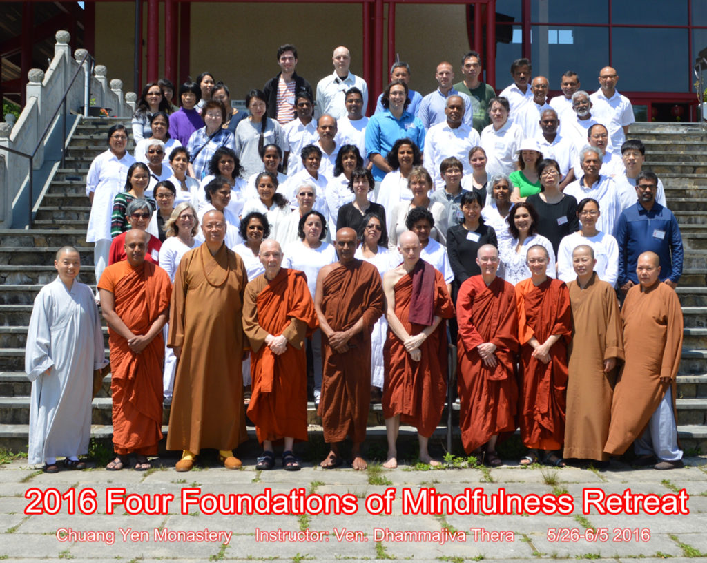 The Group Photograph at the CYM Retreat